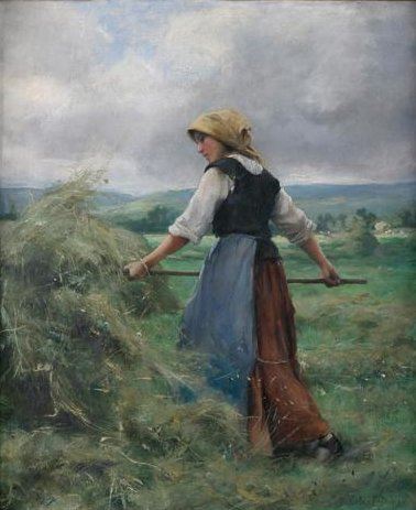 Photograph of a painting by Therese Cotard-Dupre.
