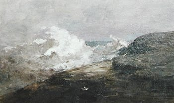 Photograph of a painting by the Irish artist, Nathaniel Hone
